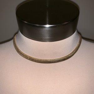 Jewelry - Vintage gold chain choker